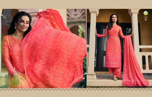 Vinay Fashion Kervin Poonam Vol-2 11491-11497 Series