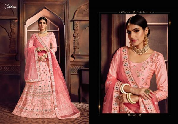Zikkra Lehenga Vol-11 11001-11009 Series Wholesale