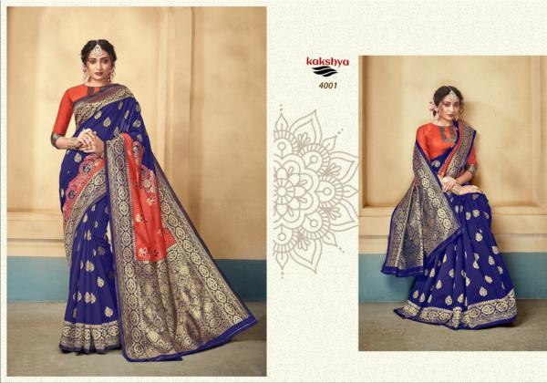 Kakshya Saree Aahana 4001-4006 Series