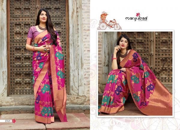 Manjubaa Clothing Maheesha Silk 2301-2308 Series