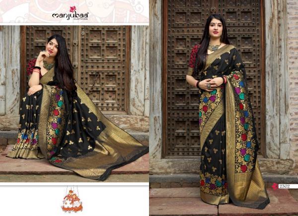 Manjubaa Clothing Maheesha Silk 2302