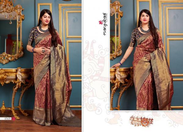 Manjubaa Clothing Maheesha Silk 2303