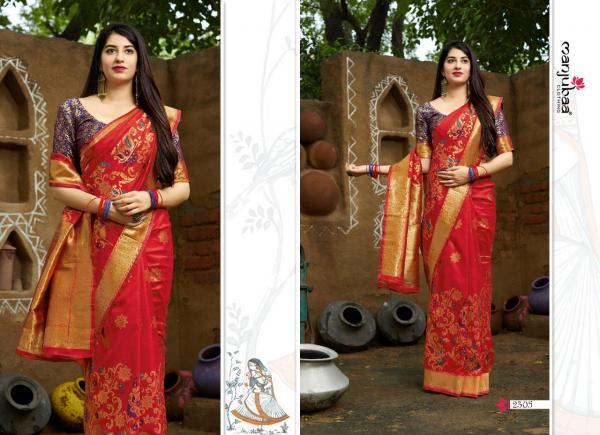 Manjubaa Clothing Maheesha Silk 2305