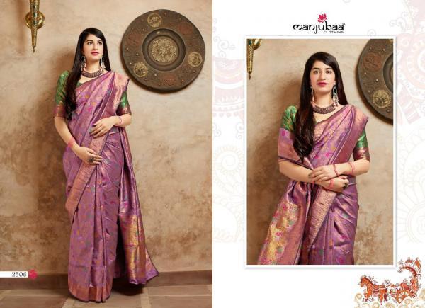 Manjubaa Clothing Maheesha Silk 2306