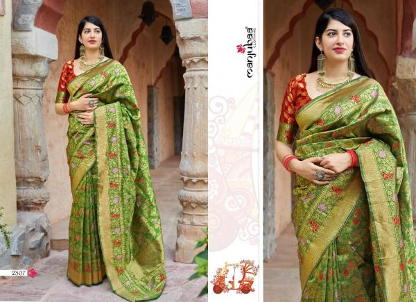 Manjubaa Clothing Maheesha Silk 2307