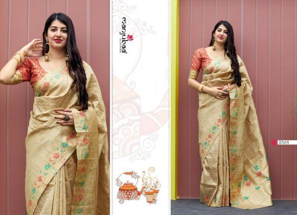 Manjubaa Clothing Maheesha Silk 2308