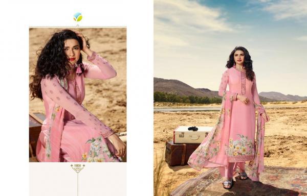 Vinay Fashion Silkina Royal Crape Vol-28 11851-11859 Series Wholesale